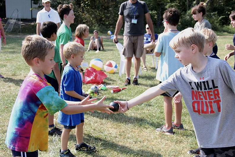 Your to-do list this weekend (and always): don't wait for the little children to come unto you