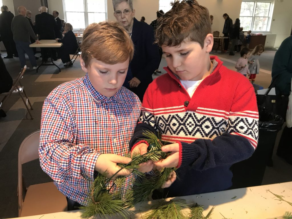 Advent Wreath Making