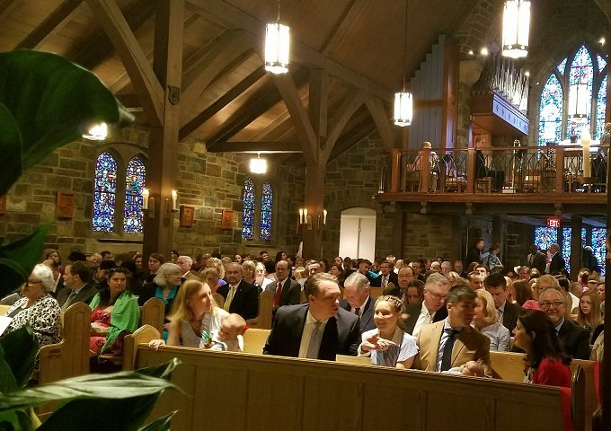 Ascension Day Service: May 10