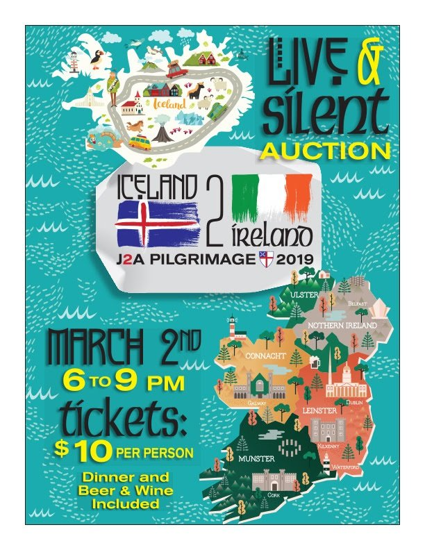 J2A Auction Tickets on sale!