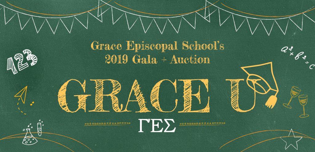"""Grace U"" Gala + Auction to support Grace Episcopal School"