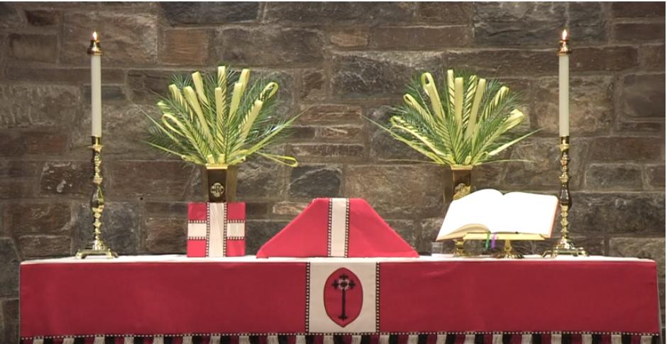 Palm Sunday, March 28: Holy Eucharist, Rite II