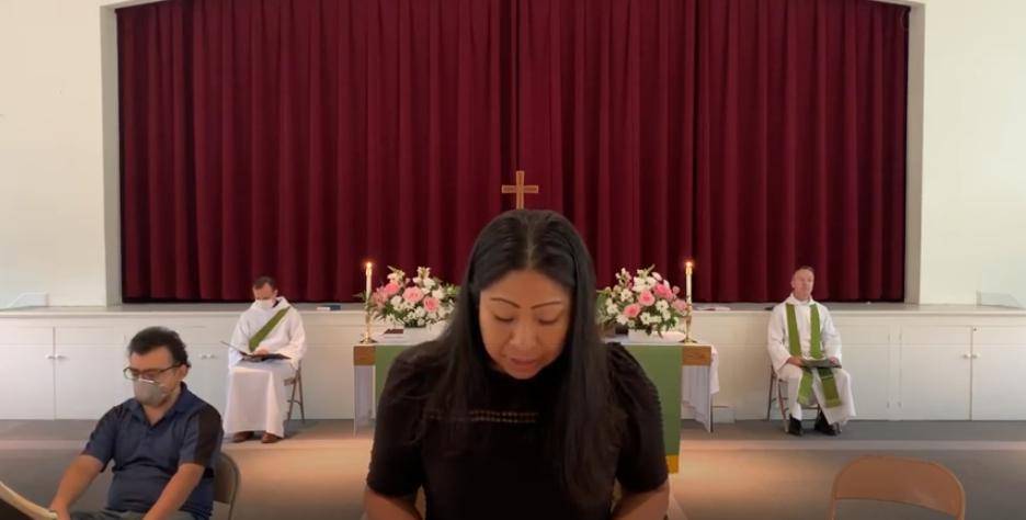 Santa Eucaristía, Rito II  – Tercer domingo después de Pentecostés