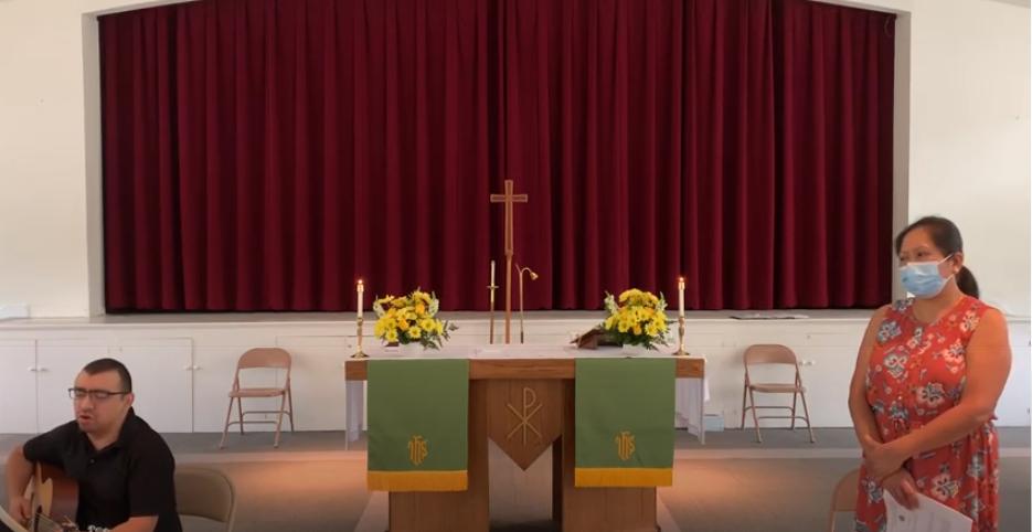 Santa Eucaristía, Rito II  – Cuarto domingo después de Pentecostés