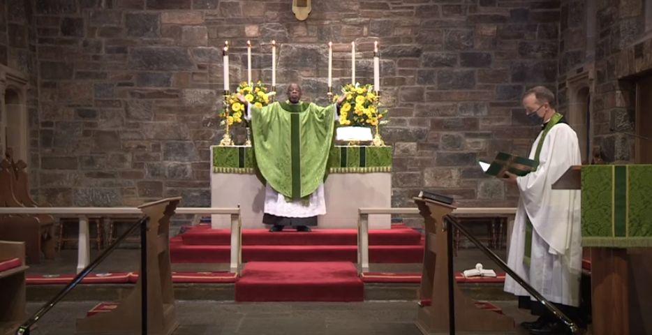 The Fourth Sunday after Pentecost, June 28, 2020:   Holy Eucharist, Rite II