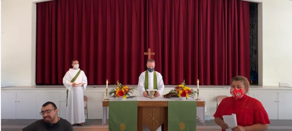 Santa Eucaristía, Rito II: Séptimo Domingo después de Pentecostés