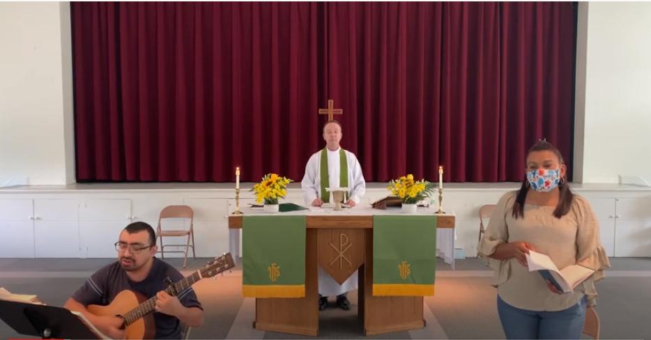 Santa Eucaristía, Rito II: Sexto Domingo después de Pentecostés