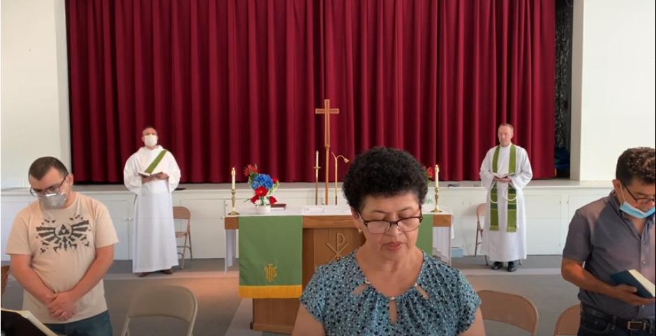 Santa Eucaristía, Rito II: Quinto domingo después de Pentecostés