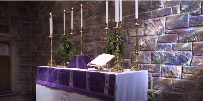 The First Sunday of Advent  – November 29, 2020: Holy Eucharist, Rite II